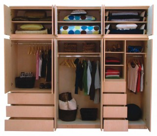 Bedroom Storage Solutions on Take Advantage Of Existing Closet Space