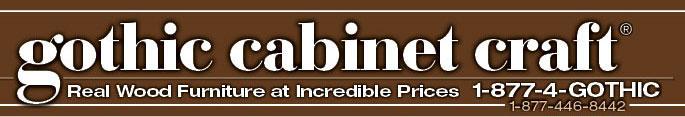 gothic cabinet craft 1-877-446-8442