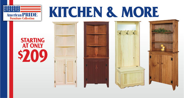 American Pride Kitchen Furniture and More